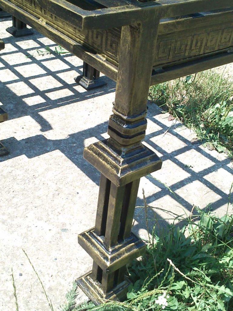 Nameštaj i enterijer od kovanog gvozdja stolica 2