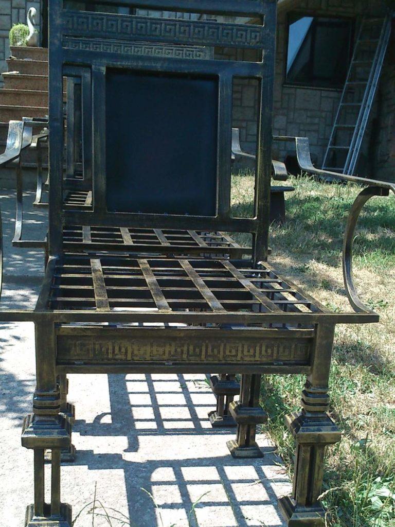 Nameštaj i enterijer od kovanog gvozdja stolica 3