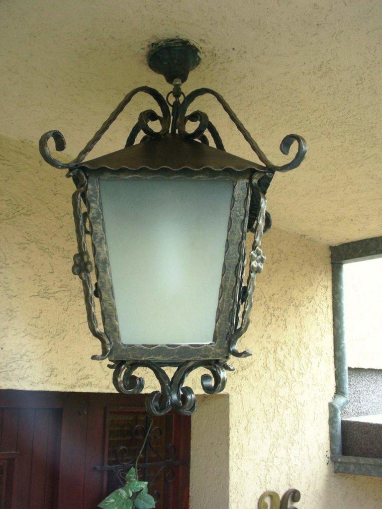 Nameštaj i enterijer od kovanog gvozdja za osvetljenje 3