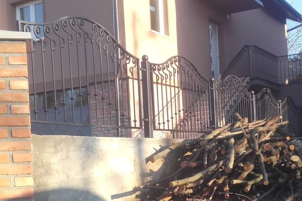 Ograde i terase od kovanog gvozdja 15