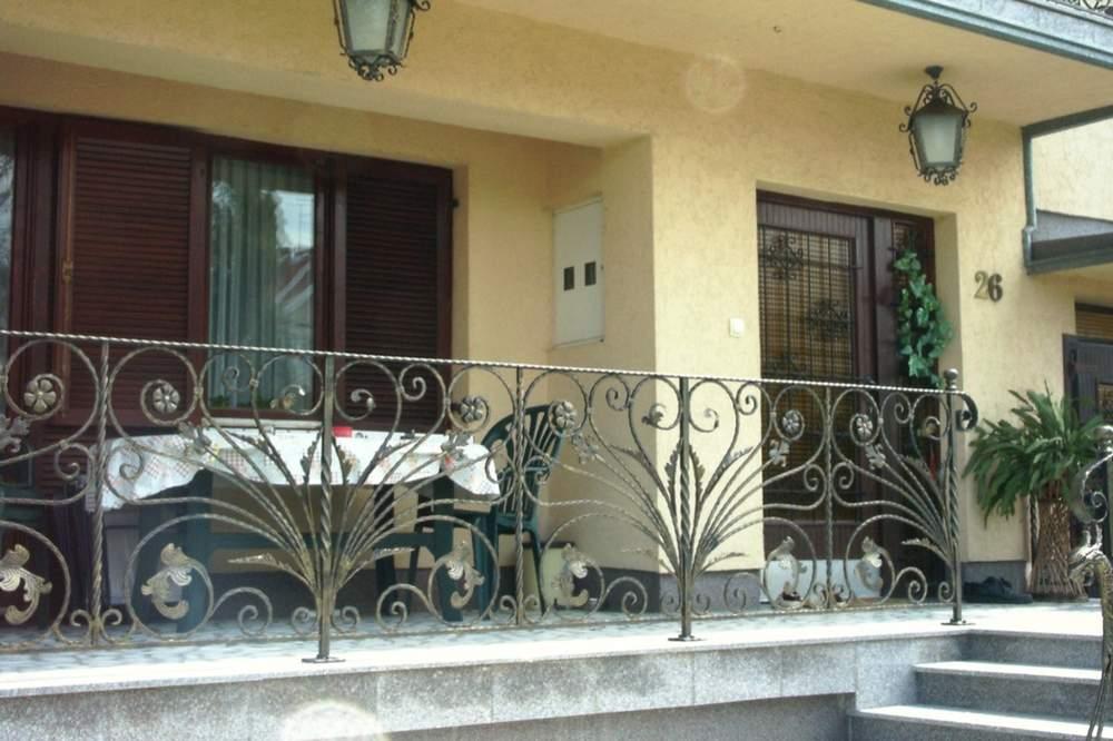 Ograde i terase od kovanog gvozdja 16