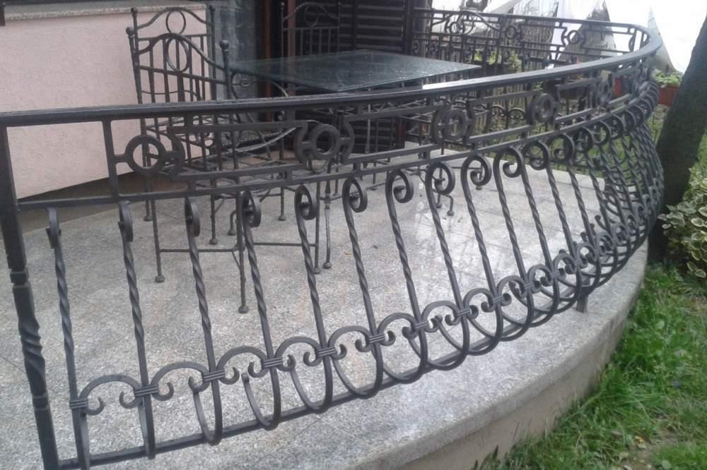 Ograde i terase od kovanog gvozdja 4