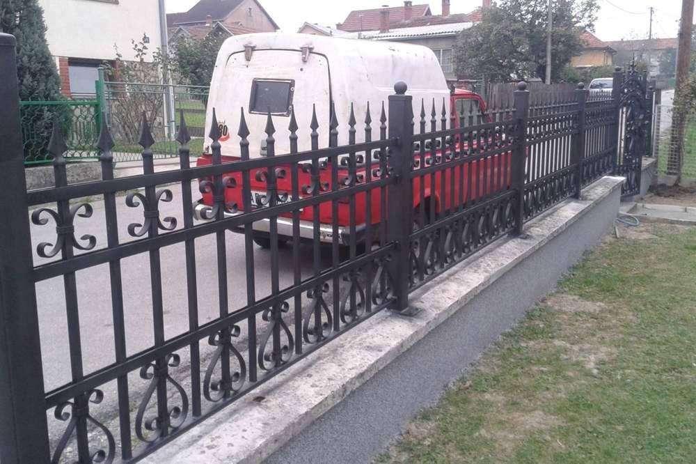 Ograde i terase od kovanog gvozdja 5